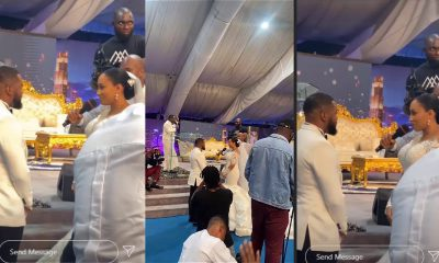 VIDEO: Weird Controversies Trail Wedding Ceremony Of Nigerian Actor, Williams Uchemba