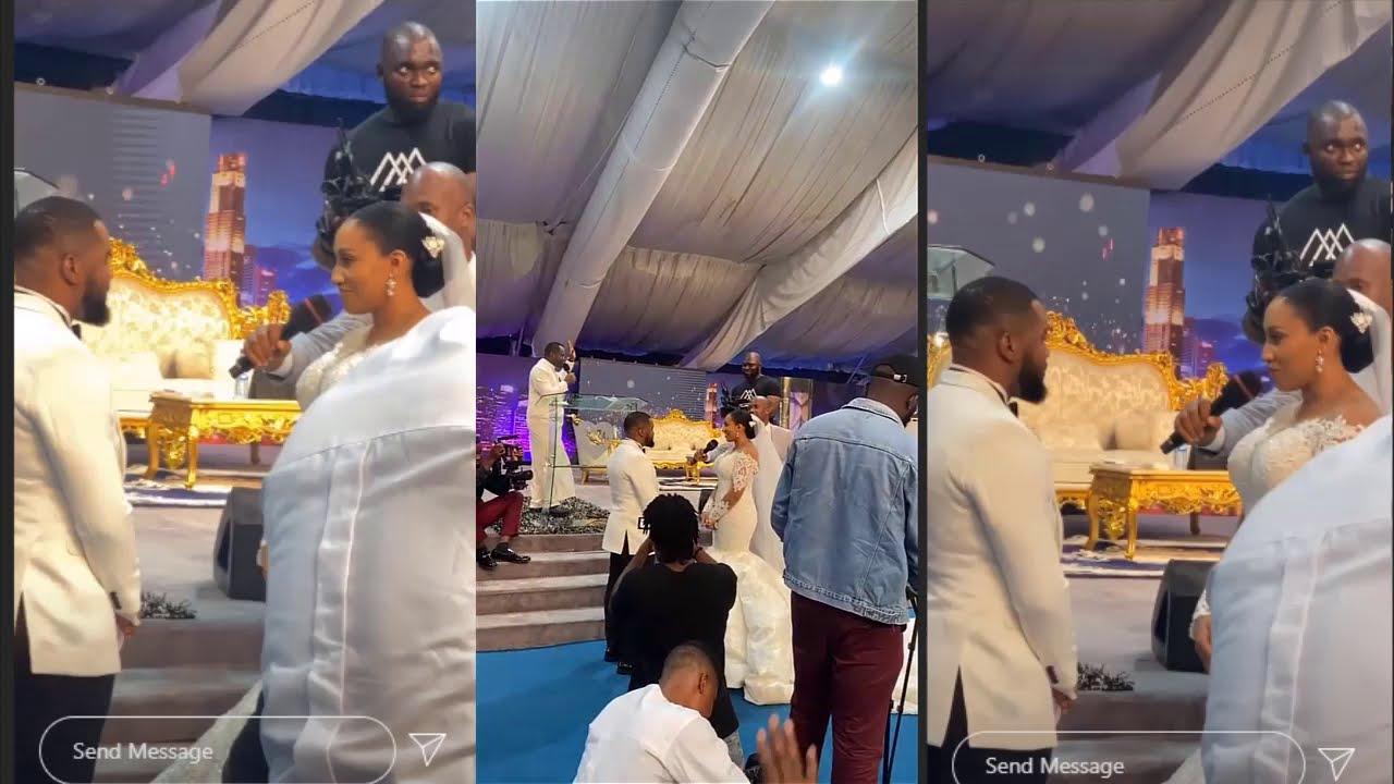 VIDEO: Weird Controversies Trail Wedding Ceremony Of Nigerian Actor, Williams Uchemba