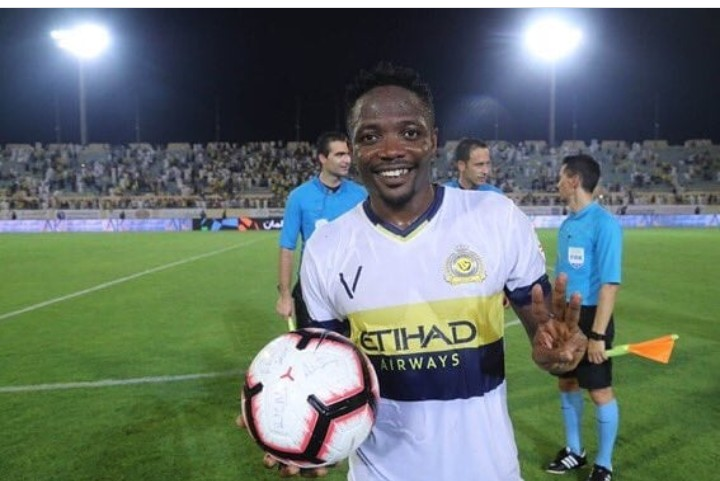 Ahmed Musa Bids Farewell To Al Nassr Teammates, Fans