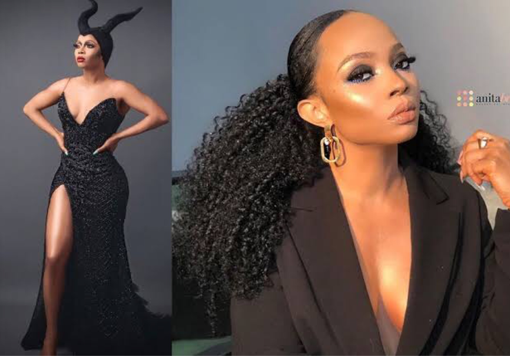 Toke Makinwa Replies Fan Who Said That She Had Butt Surgery