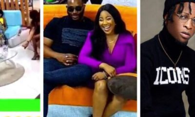 'You're Rude' - Erica Tells Kiddwaya For Interrupting Her (Video)