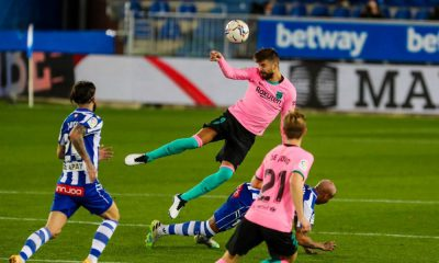Barcelona Draw Alaves; Another Woe For The Catalans