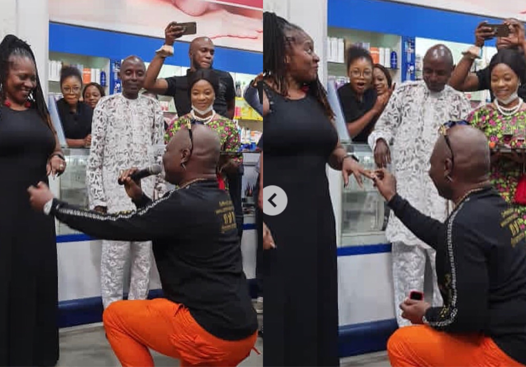 Charly Boy Proposes To His Wife For The 4th Time After 45 Years Of Marriage