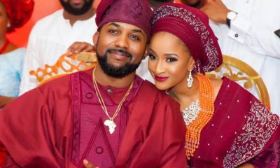 Banky W, Adesua Etomi Celebrate Third Wedding Ceremony With Sweet Messages