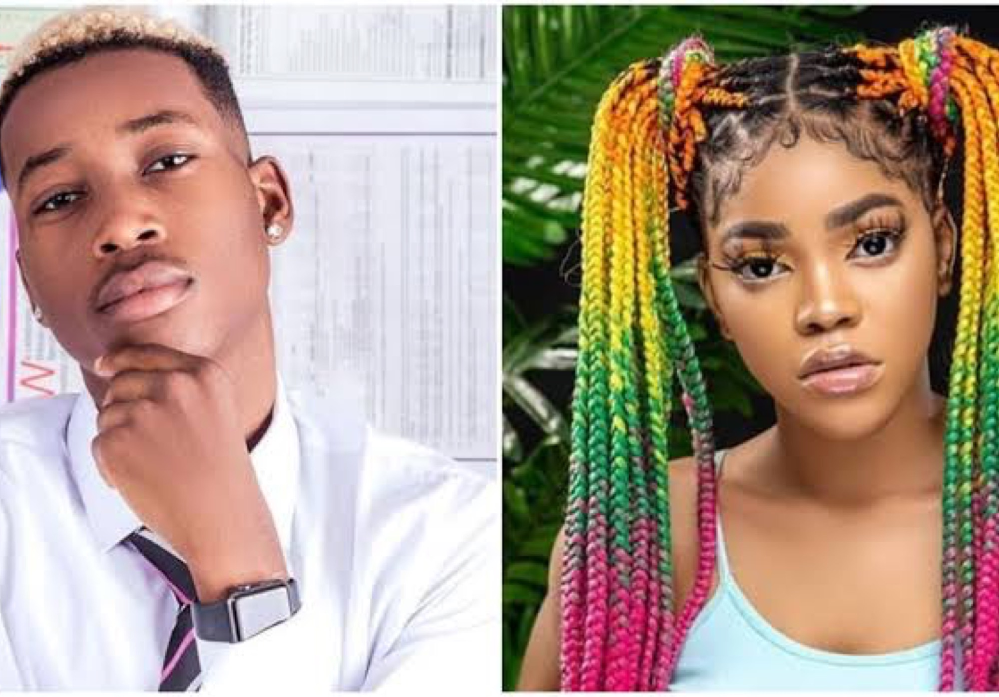 Lil Frosh's Girlfriend Finally Reacts After He Denies Beating Her Up