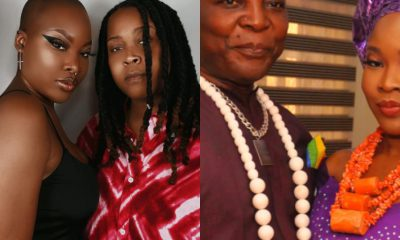 Charly Boy and his daughter