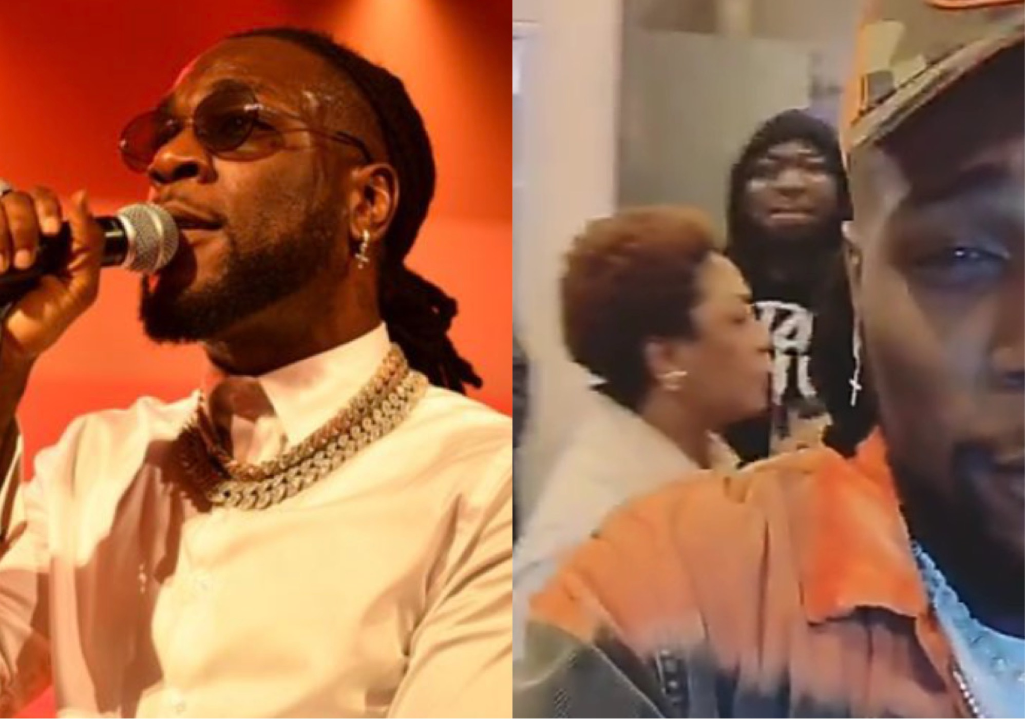 """""""You Are Looking At The Champion"""" - Burna Boy Reacts To His Grammy Nomination"""