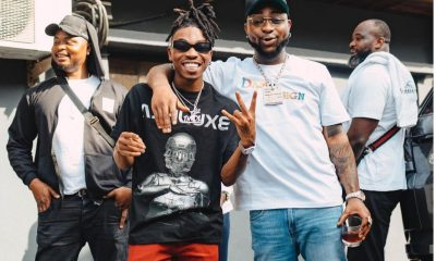 Davido Shares His First Conversation With Mayorkun; Says 'He Is Emotional'