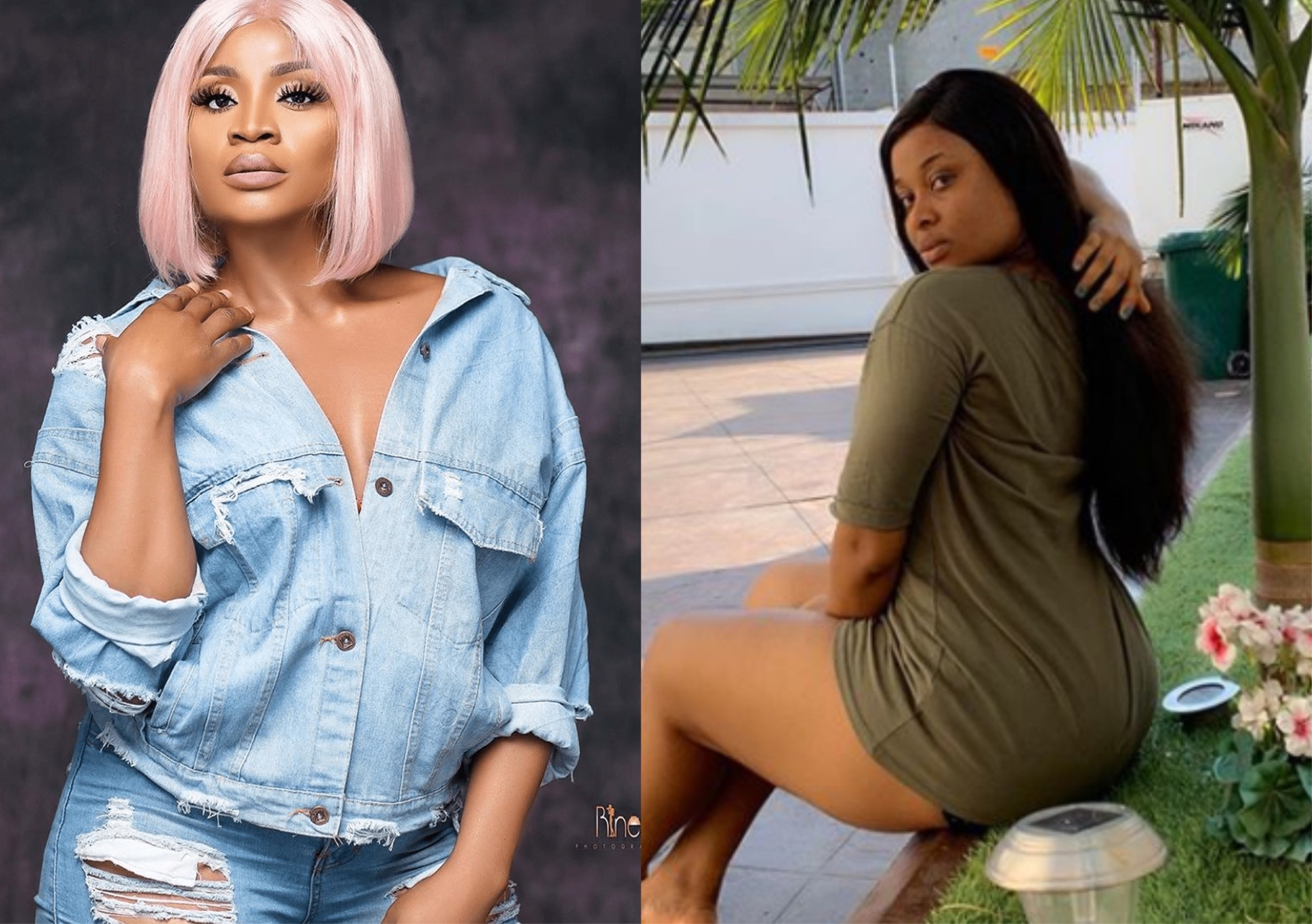 Actress Uche Ogbodo Calls Inem Peter A Lesbian For Saying 'Women Are Much Happier Without Men'