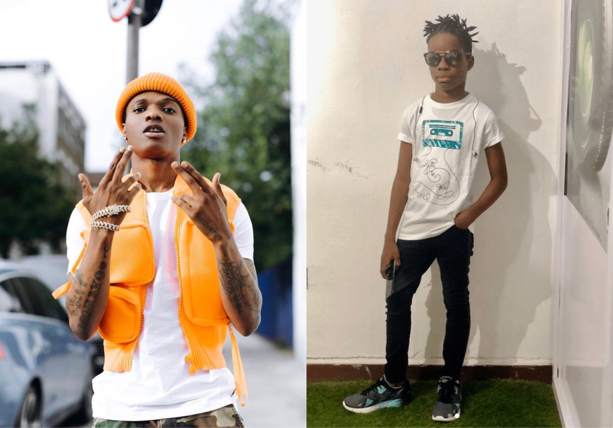 'My Dad Is The Greatest Of All Time' - Singer Wizkid's First Son, Boluwatife Says