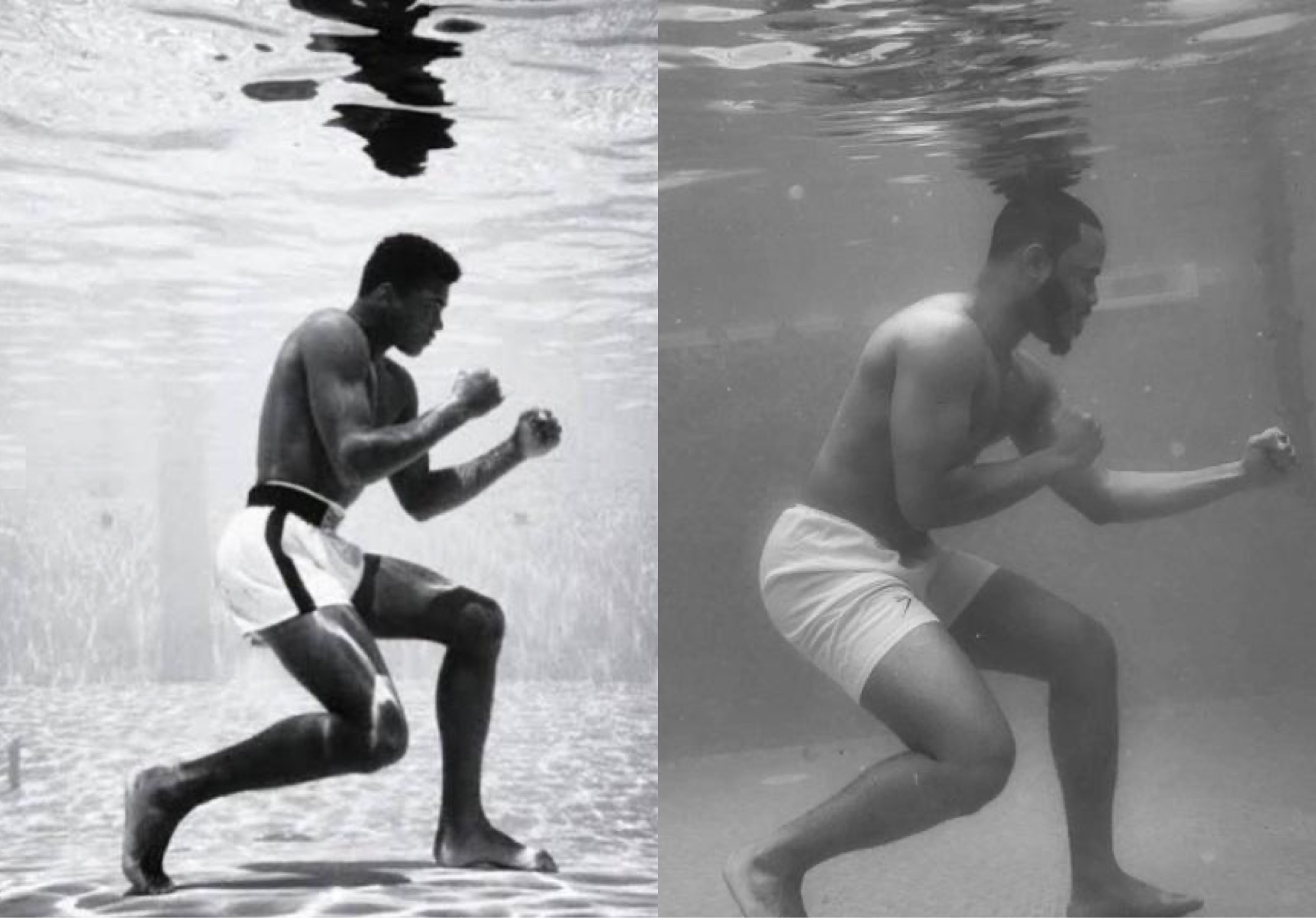 Photo of Muhammad Ali and Ozo