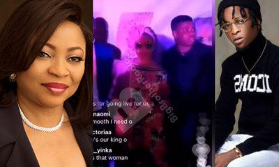 Folorunsho Alakija, Davido, Others Attend Laycon's Birthday Party