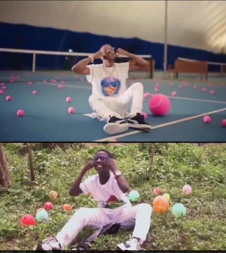 Ikorodu Bois Remake Wizkid's 'Smile' Video