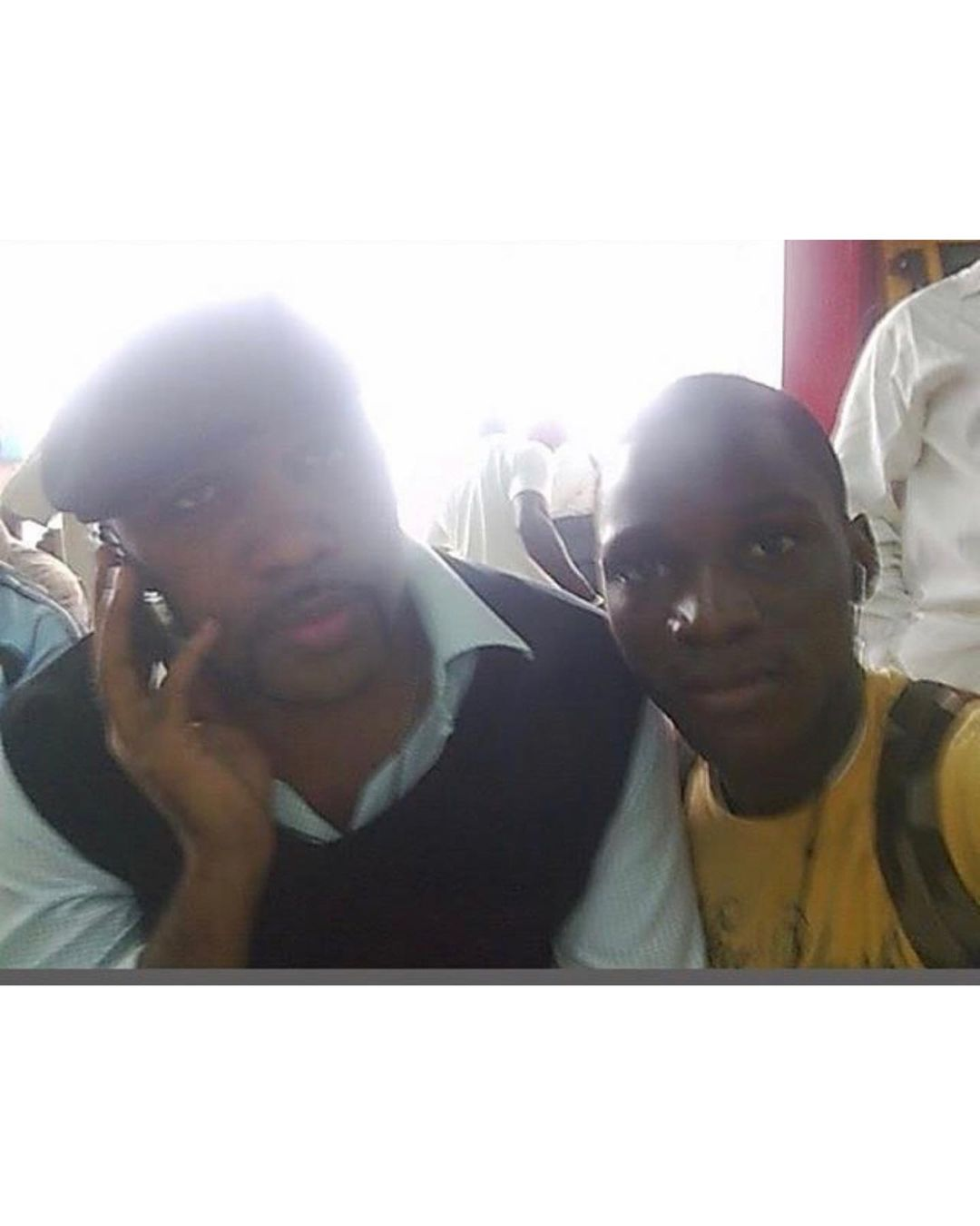 Tobi Bakre Shares Throwback Picture Of Him & Banky W