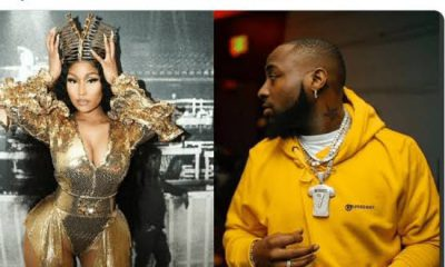 Nicki Minaj Congratulates Davido On Release Of 'A Better Time' Album