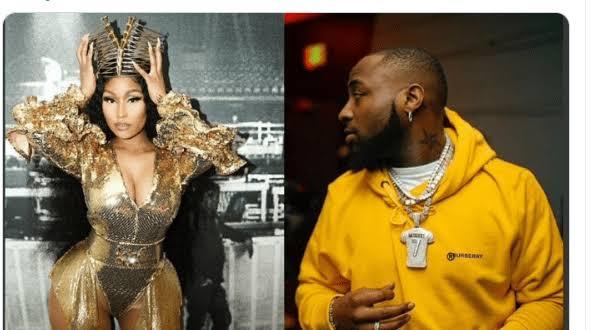 Nicki Minaj Congratulates Davido On Release Of 'A Better Time' Album