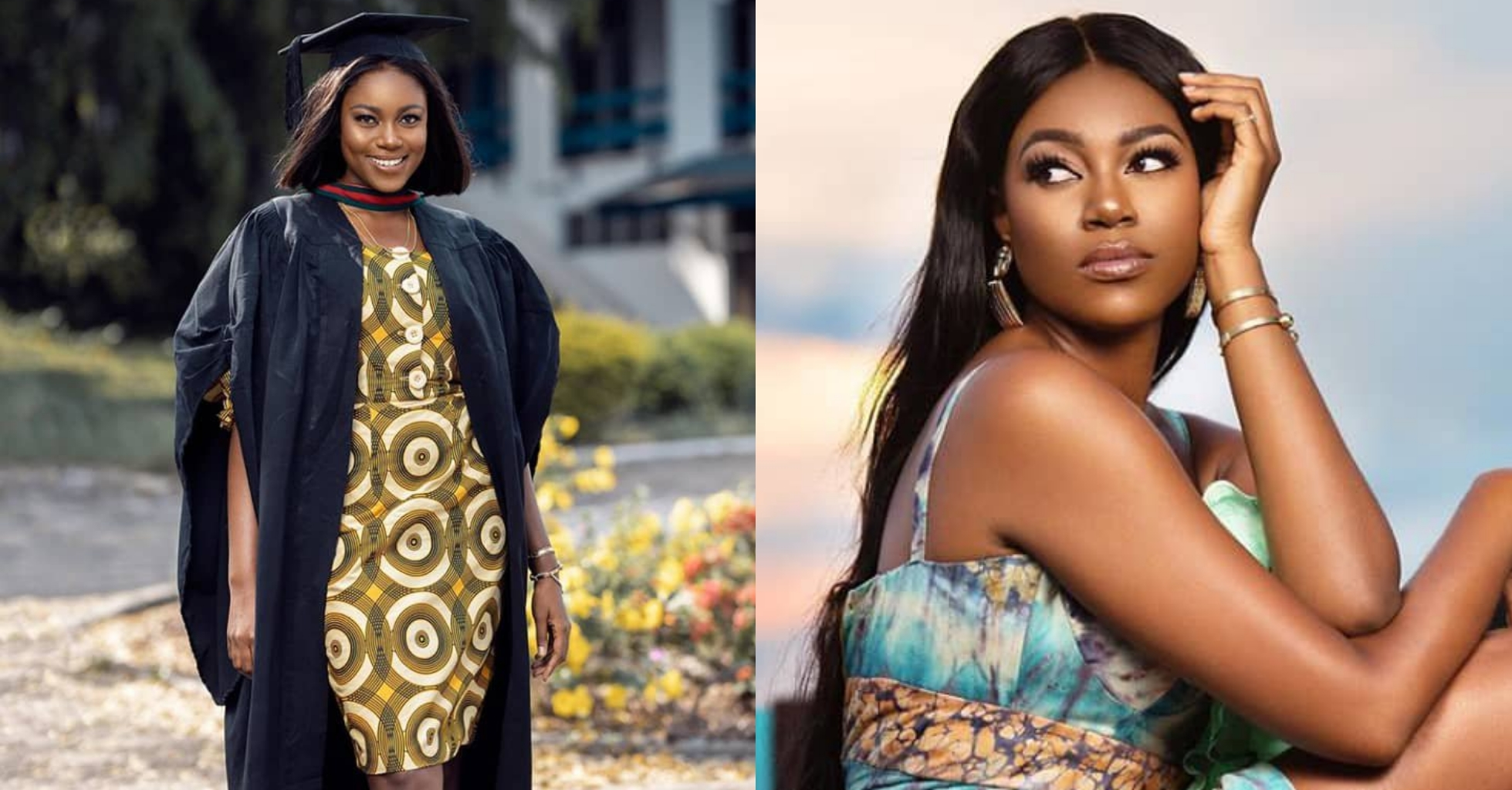 Actress, Yvonne Nelson bags Masters Degree, celebrates 35th birthday (Photo)