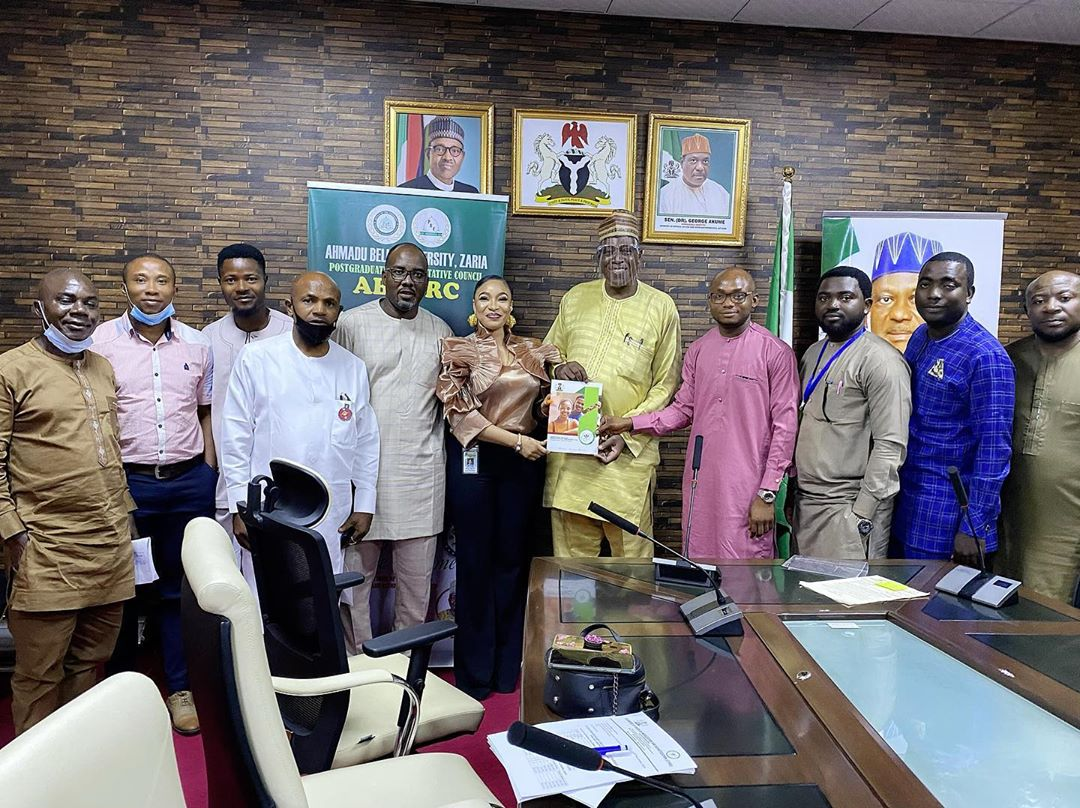 Tonto Dikeh Pays Visit To Minister Of Special Duties To Discuss Youth Development