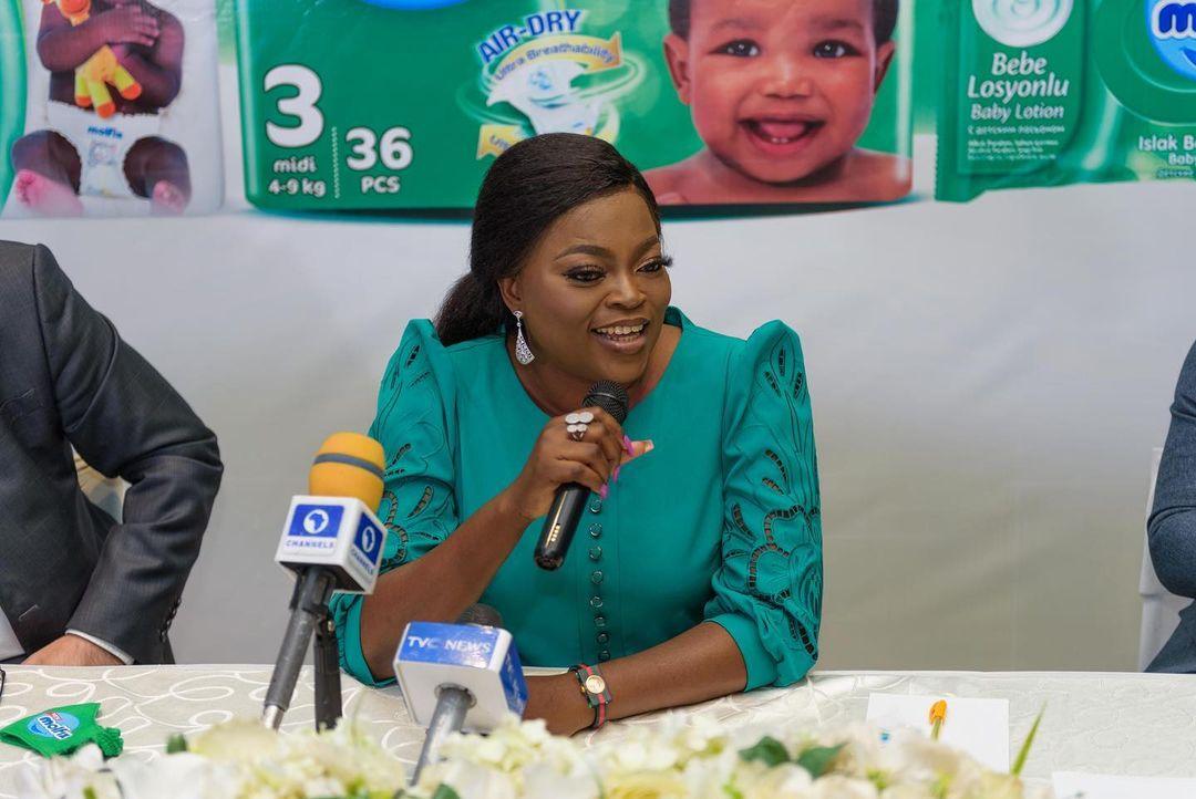 Funke Akindele Bags Ambassadorial Deal With Molfix