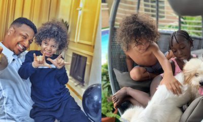 Girls are wahala, they are chasing me – Ik Ogbonna's son laments
