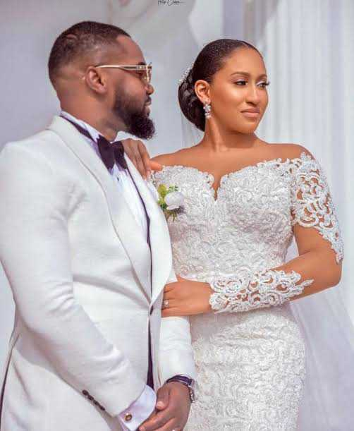 """""""God made it possible"""" – Williams Uchemba pens appreciation message as he officially releases his wedding photos"""