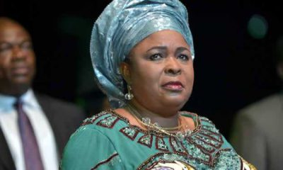 I'll choose you to be my husband over and over – Patience Jonathan tells her hubby, Goodluck