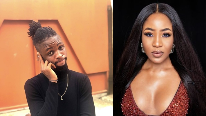 Laycon Reacts After Erica's Manager Called Him A Manipulative Person