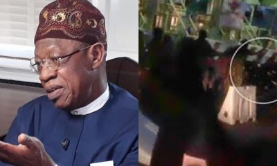 Lekki Shooting: Lai Mohammed insists soldiers fired only blank bullets
