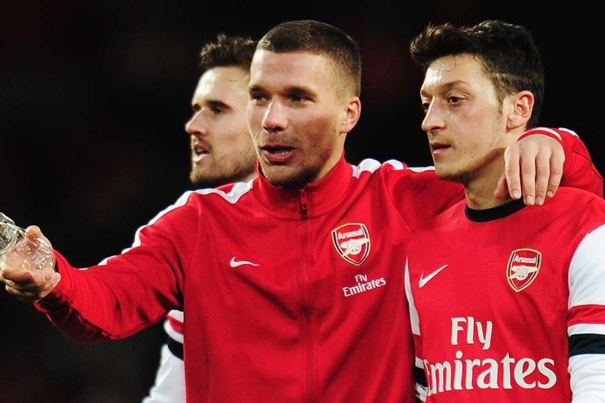 'It's not okay!' - Podolski Criticises Arsenal & Arteta for Ozil treatment