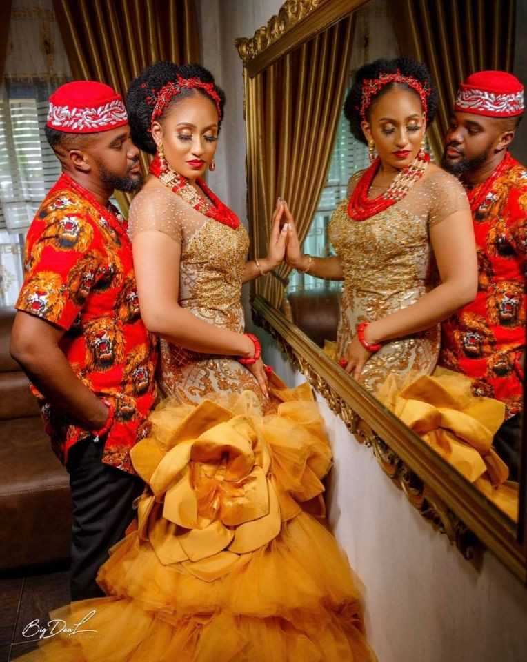 More photos from Actor Williams Uchemba's traditional wedding