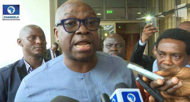 Insecurity: I Will Be Surprised If Buhari Honours Lawmakers Invite – Fayose