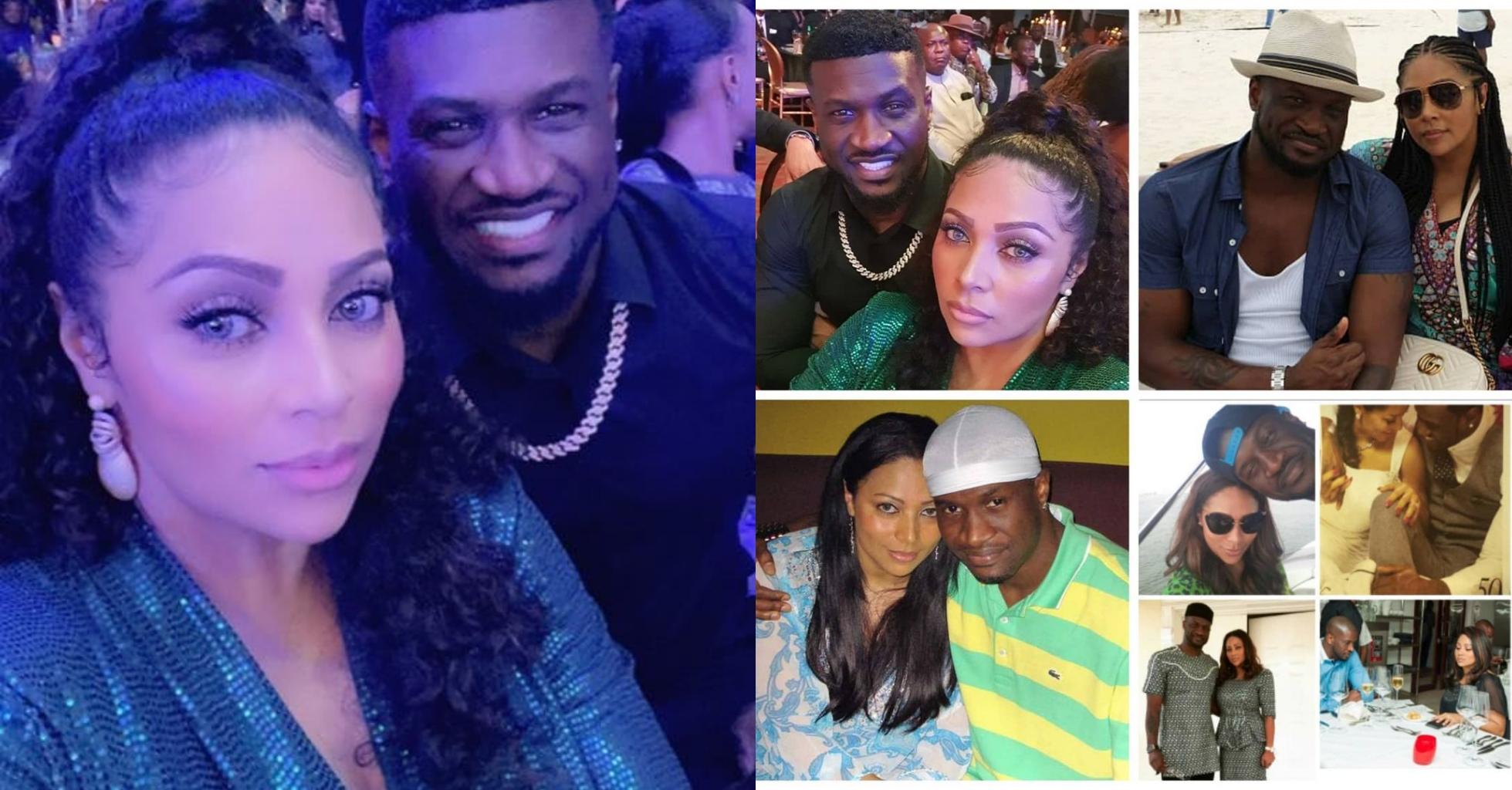 Peter Okoye and wife celebrate 7th wedding anniversary
