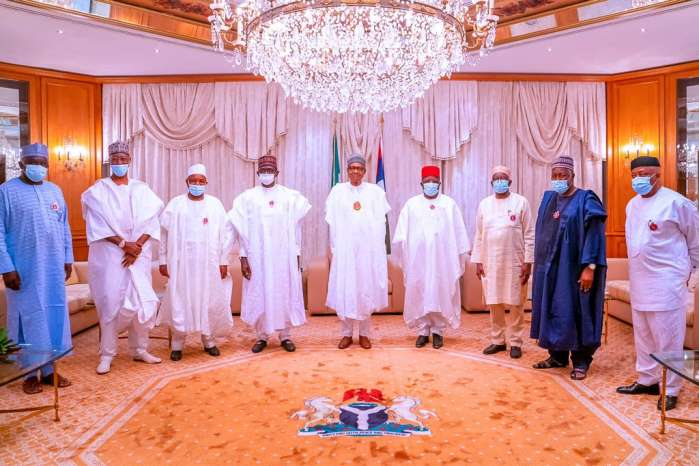 2. President Muhammadu Buhari Thursday night received Ebonyi State Governor, David Umahi, shortly after he defected from the Peoples Democratic Party (PDP) to the ruling All Progresives Congress (APC).