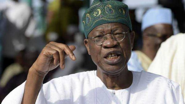 Selfish Elites Giving Impression Nigerians Don't Want To Stay As A Nation: Lai Mohammed