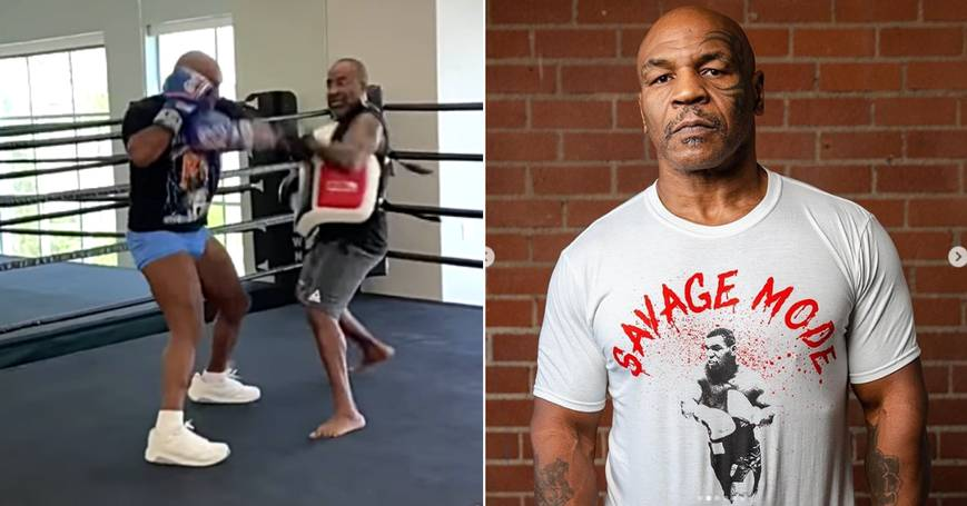 Mike Tyson Shows Off Insane Speed In New Training Video