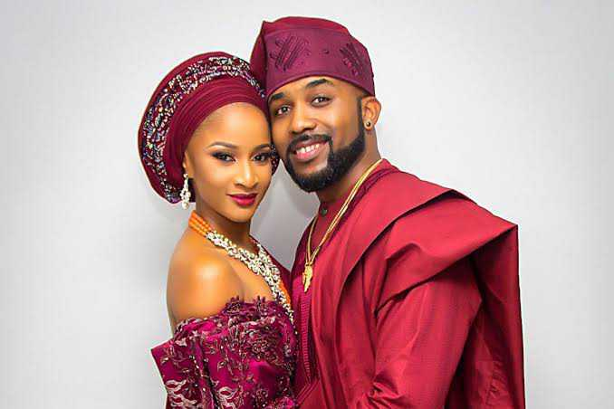 Banky W and Adesua Etomi-Wellington