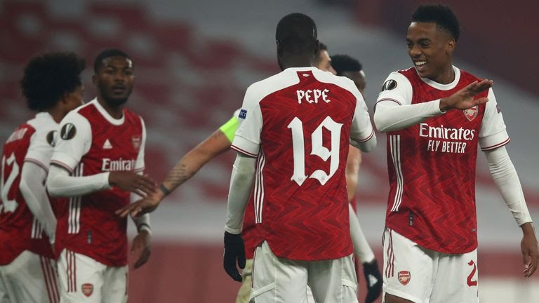 Arsenal 4-1 Molde: Gunners Win Third Match In Europe Despite Early Scare