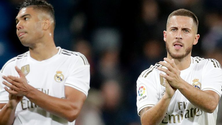 Real Madrid Players, Hazard And Casmeriro Test Positive For COVID-19