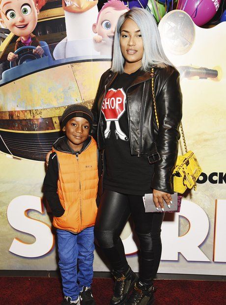 Stefflon Don and her son