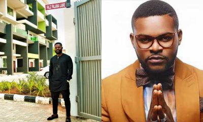 Falz excited after a street in Lagos was named after him