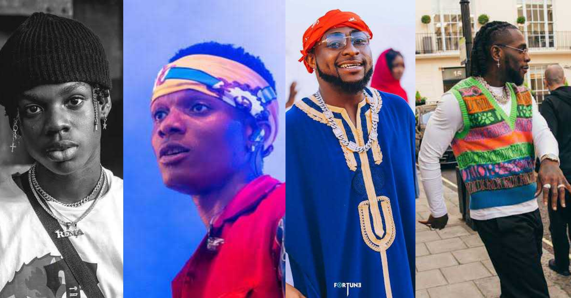 Wizkid, Burna Boy, Davido, Rema, Others ominated for 2020 MOBO Awards (Full List)