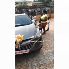 Mother gifts new car to daughter 'who did so well' in the 2020 WASSCE