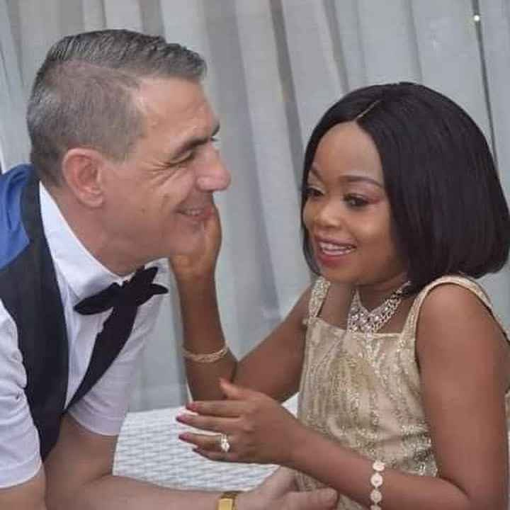 Petite actress, Mary Nky Onyemena and her lover