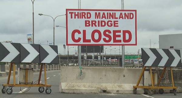 Third Mainland Bridge Closed For Three Days Amid Christmas Holiday