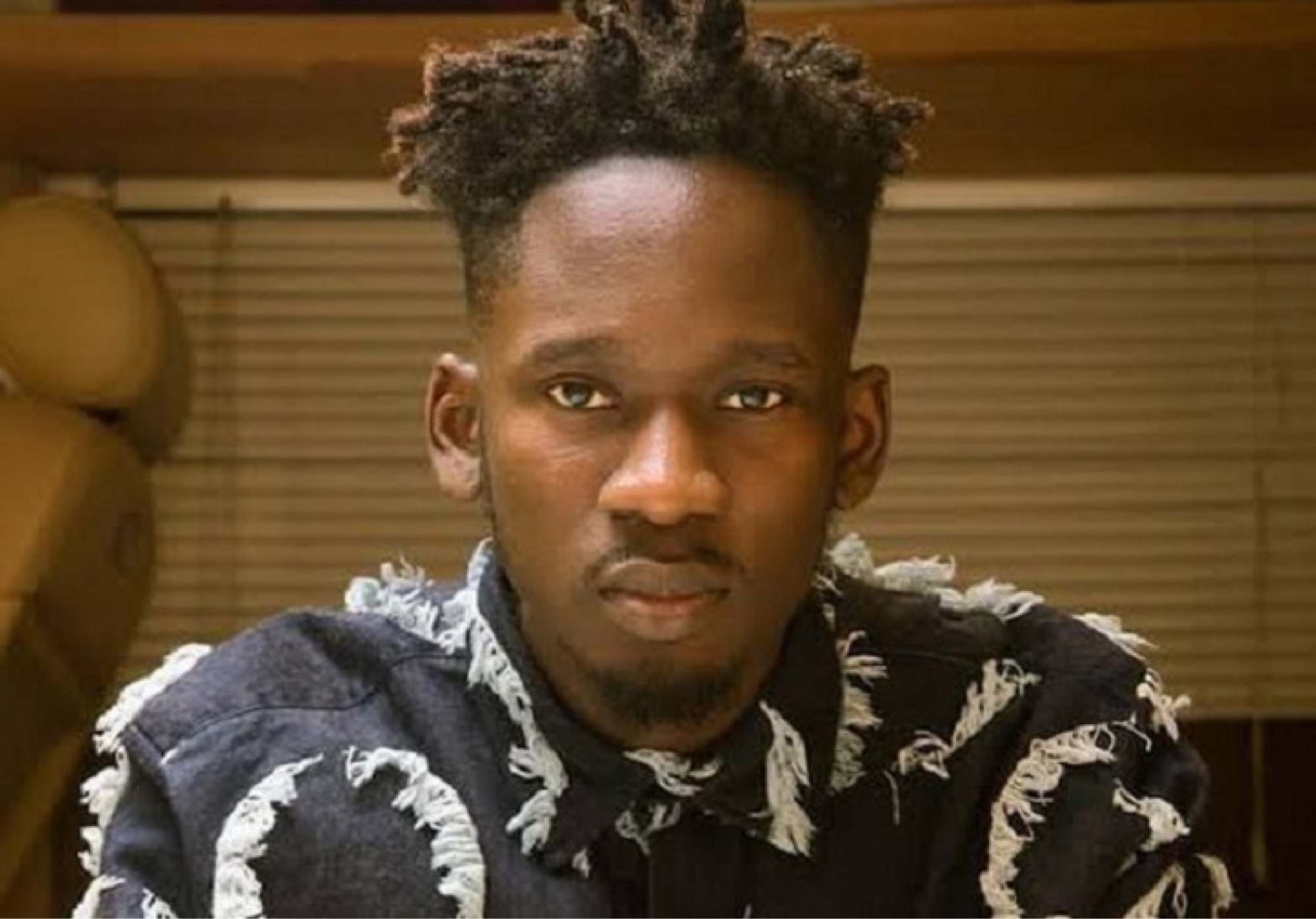 Mr Eazi Receives New Laptop After Getting Robbed