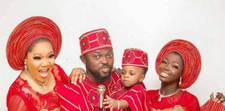 Toyin Abraham Shares Lovely Family Photo On Instagram
