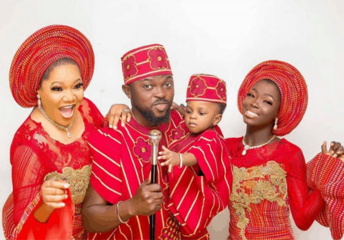 Toyin Abraham Shares Lovely Family Photo On Instagram