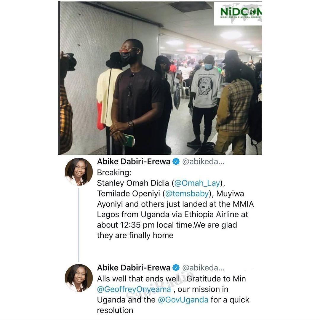Dabiri-Erewa's tweets