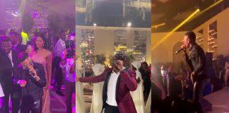 Paul Okoye, Wizkid Perform At Presidential Wedding In Equitorial Guinea