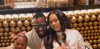 9ice Hangs Out With His Wife, Daughter (Photos)